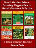 Small Garden Ideas: 6 Books Bundle On Growing Vegetables In Raised Beds & Containers - Ideas For The Small Garden or Patio