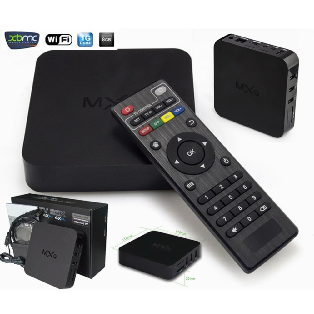 2015 Newest MXQ Android 4.4 Tv Box 1g Amlogic S805 Quad-core 1gb RAM 8gb Flash Android 4.4 Os, Support 1080p Xbmc Wifi