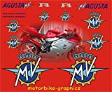 MV Agusta F4 large Side decals race rep decals graphics stickers