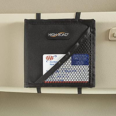 High Road Car Visor Registration Wallet
