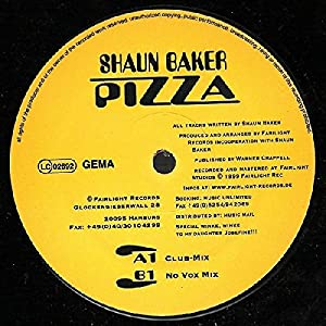 Pizza / Vinyl Maxi Single [Vinyl 12'']
