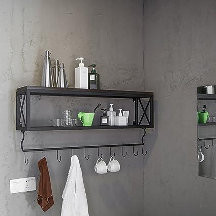 FGSGJ Mensola Creative Retro Mensola LOFT Rack Industriali Raffreddamenti Vassoi Scaffali Salone Mobili ( dimensioni : 100*20*45cm )