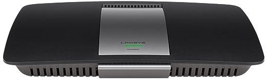 Linksys EA6400-EN - Router (N300+, USB, 4 x Ethernet Gigabit), negro