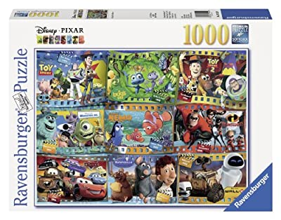 Ravensburger Disney Pixar: Disney-Pixar Movies (1000-Piece) Puzzle from Ravensburger