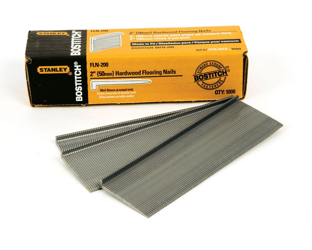 Bostitch Fln 200 2 Inch Flooring L Nail 1000 Per Box