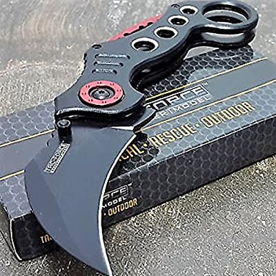 Tac-Force Tactical Pocket Knives Black Blade Tactical Knife from TAC Force :: Combat Knife :: Tactical Knife :: Hunting Knife :: Fixed Blade Knife :: Folding Blade Knife