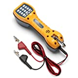 Fluke Networks TS30 Telephone Test Set with Angled Bed-of-Nails Clips (Tamaño: With ABN Clips)