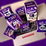Cadbury Fun Pack Easter Box - Dairy Milk Egg 'n' Spoon & Buttons Egg - By Moreton Gifts - Great Birthday Gift, Treat