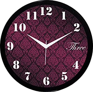buy it2m 11 round traditional wall clock with glass for