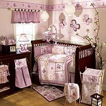 Hot Sale CoCaLo Sugar Plum 6 Piece Crib Bedding Set