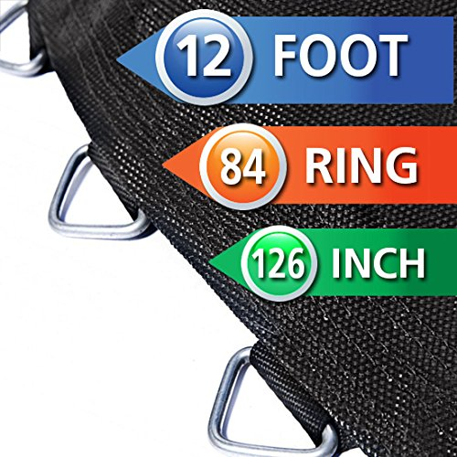 Replacement-Trampoline-Mat-for-12-Foot-Round-Frame-Springs-Sold-Separately-12-ft-Round-Frame-126-Round-Mat-84-V-Rings-65-Springs