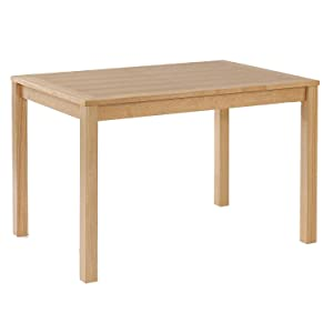 Oakridge Dining Table   W 117m x D 82cm x H 74cm   Oak Veneer       Customer review and more info