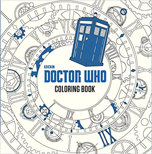 Doctor Who Coloring Book ISBN-13 9780399542299
