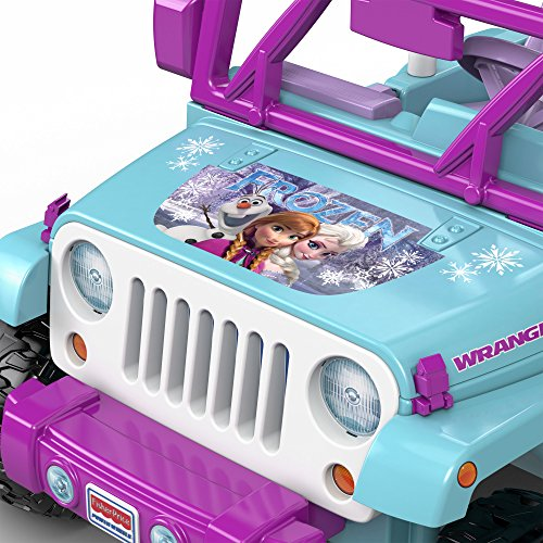Fisher Price Cars For Kids Ride On Toys Disney Frozen Jeep
