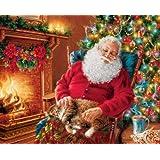 Santa's Cat Nap - 1000 pc Rect