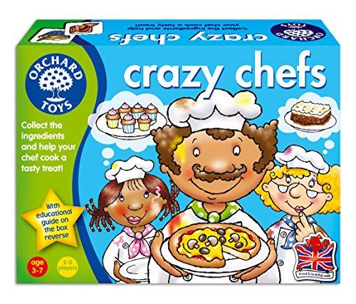 """Orchard Toys - Jeu de Cuisiniers Fous """"Crazy Chefs """" - Langue: anglais"""