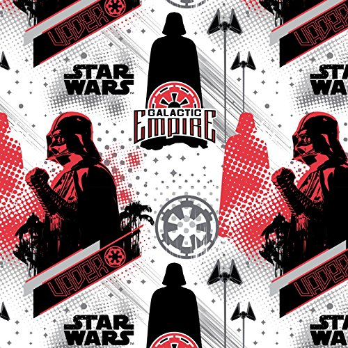 Star Wars Rogue One Galactic Empire Fleece Fabric by the yard