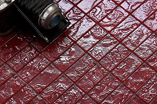 10-cm-x-10-cm-modello-vetro-mosaico-piastrelle-in-rosso-tessitura-motivo-iert-lava-effetto-pietra-co