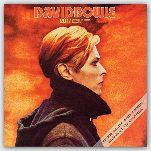 David Bowie 2017 - 18-Monatskalender: Original BrownTrout-Kalender