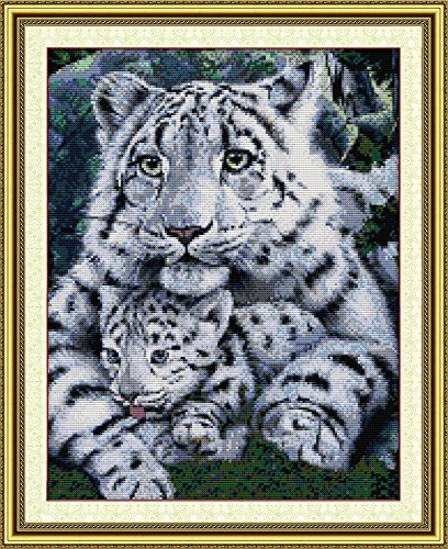 Good Value Cross Stitch Kits Beginners Kids Advanced -The Care of Tiger Mom 11 CT 18