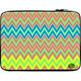 Snoogg Colourful Pattern 2573 10 To 10.6 Inch Laptop Netbook Notebook Slipcase Sleeve