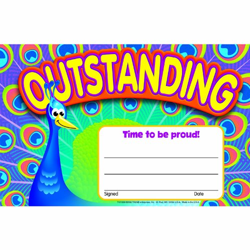 Trend Enterprises Outstanding-Peacock Award, 30/Pkg (T-81028)