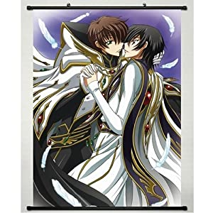 Home Decor Japanese Anime Wall Scroll Code Geass: Lelouch of the Rebellion ,24''*32''
