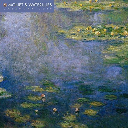 Monet's Waterlilies Mini Wall Calendar 2016 (Art Calendar)