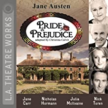 Pride and Prejudice (Dramatized)  by Jane Austen, Christina Calvit Narrated by Diane Adair, Jane Carr, Chloe Dworkin, Nicholas Hormann, Julia McIlvaine, Cerris Morgan-Moyer, Jill Renner