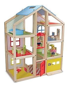 Melissa & Doug - Dolls House maison de poupées - Bois - 12462
