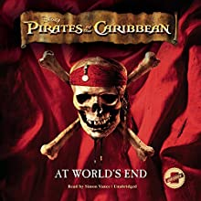 Pirates of the Caribbean: At World's End: The Pirates of the Caribbean, Book 3 (       UNABRIDGED) by Disney Press Narrated by Simon Vance