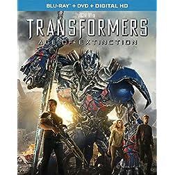 Transformers: Age of Extinction [Blu-ray + DVD + Digital HD]