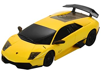 Jamara - 404000 - Maquette - Voiture - Lamborghini Murcielago Lp670-4 - Jaune - 3 Pièces