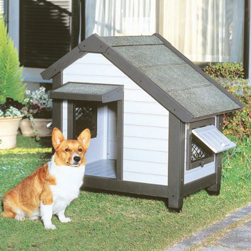 アイリスオーヤマ コテージ犬舎 CGR-830 グレー