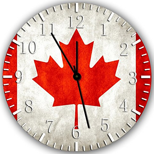 New Canada Flag Wall Clock 10