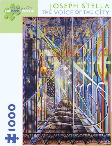 Joseph Stella - The Voice of the City Puzzle: 1000 Pcs