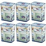 Lock&Lock Frischhalteboxen Set 6 teilg HPL 813S6 6 x 1,8 l
