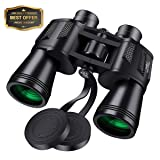 10x50 Binoculars for Adults,SGODDE Super High Powered Surveillance Binoculars- HD Vision,Wide Angle,Fully Coated Lens Prism Binoculars for Outdoor Tra