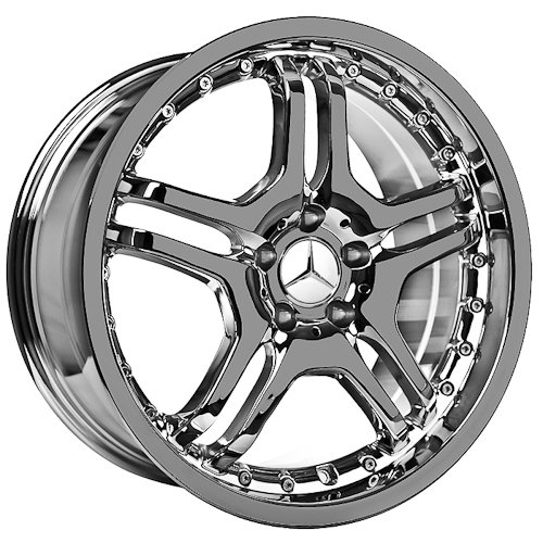 18 Inch Mercedes Wheels Rims Chrome (set of 4)