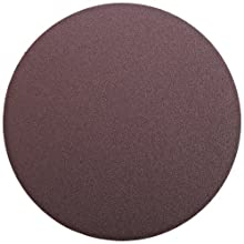 "3M  PSA Cloth Disc 348D, X Weight Cloth, PSA Attachment, Aluminum Oxide, 12"" Diameter, 60 Grit, Brown (Pack of 10)"