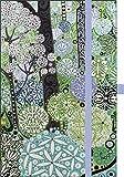 """Premium Timer Small """"Woodland"""" 2017: Buchkalender mit hochwertiger Folienveredelung und Prägung"""