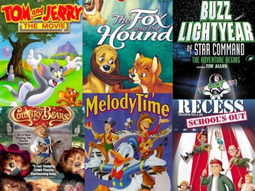 Tom and Jerry Movie, Country Bears, Fox and the Hound, Melody Time, Recess: School's Out, Buzz Lightyear (Country Bears Vhs compare prices)