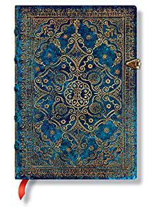 equinoxe azurblau notizbuch midi unliniert paperblanks b robedarf schreibwaren. Black Bedroom Furniture Sets. Home Design Ideas