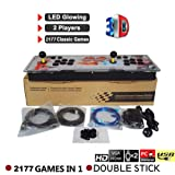 Pandora's Key 7 3D Home Arcade Game Console | Includes 2177 HD Games | Full HD1080 Video | 2 Player Game Controls | HDMI/VGA/USB (Color: /)