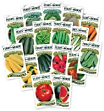 Search : Ferry Morse Large Vegetable Garden, 17 - Piece Set