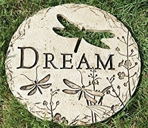 12 Dragonfly Cut Out Dream Decorative Garden Patio Stepping Stone Outdoor
