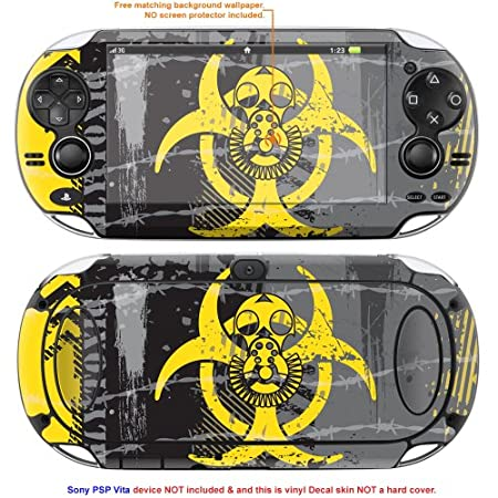 Decalrus Matte Protective Decal Skin Sticker for Sony PlayStation PSP Vita Handheld Game Console case cover Mat_PSPvita-97