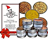 Chef Cherie's Indian Spice Gift Set #1 – Contains 5 2 oz. Tins thumbnail