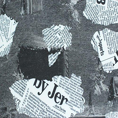 Newspaper Print Spandex 01 PS 2516 Fabric (Dance Costume Dressmaker)
