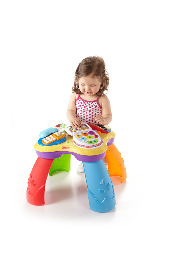 Table musical learn kid toy fisher price baby activity play fun toddler children ebay - Table activite fisher price ...